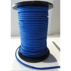 cable bleu élastique / au mètre