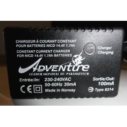 Chargeur ADVENTURE 100mA /12 V pour batterie