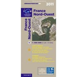 CARTE OACI NORD / OUEST 2011