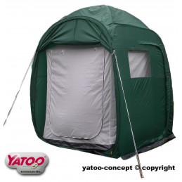 Multifunction tent exposure model that has served only once