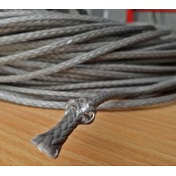 Line 3 mm DYNEEMA 300 kg / m yellow