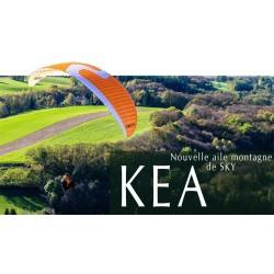 SKY PARAGLIDERS Aile de voyage KEA Meilleur choix Pleinair 2014