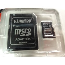 V7 Micro SD carte mémoire 4 GO KINGSTONE