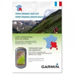 Garmin Carte de randonnée Topo France Sud Est Cartes GPS