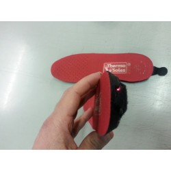 Semelles chauffantes 3D sport avec télécommande - NEW -