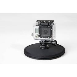 Fixation magnetique caméra dans la voile