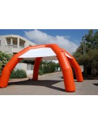 Advertising inflatable structures / Windsocks ans flags
