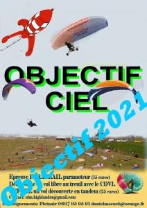 OBJECTIF CIEL 2021 C'est parti!!